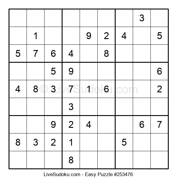Beginners Puzzle #253476