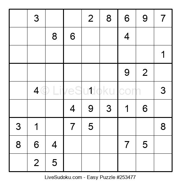 Beginners Puzzle #253477