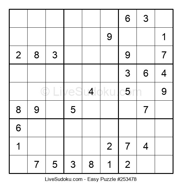 Beginners Puzzle #253478