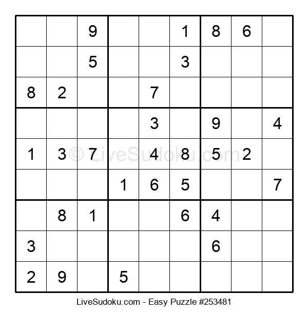 Beginners Puzzle #253481