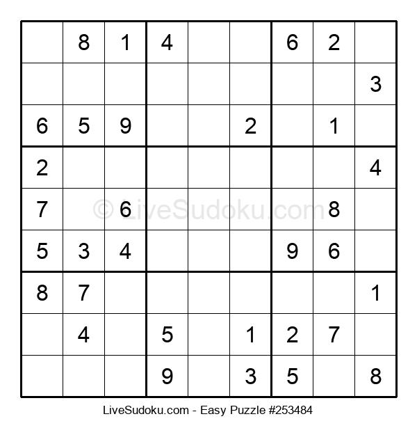 Beginners Puzzle #253484