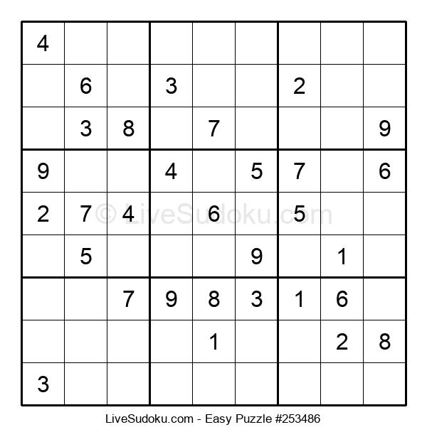 Beginners Puzzle #253486