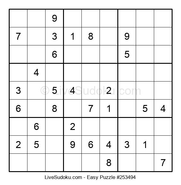 Beginners Puzzle #253494