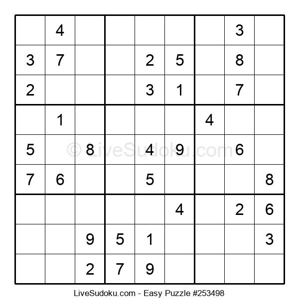 Beginners Puzzle #253498