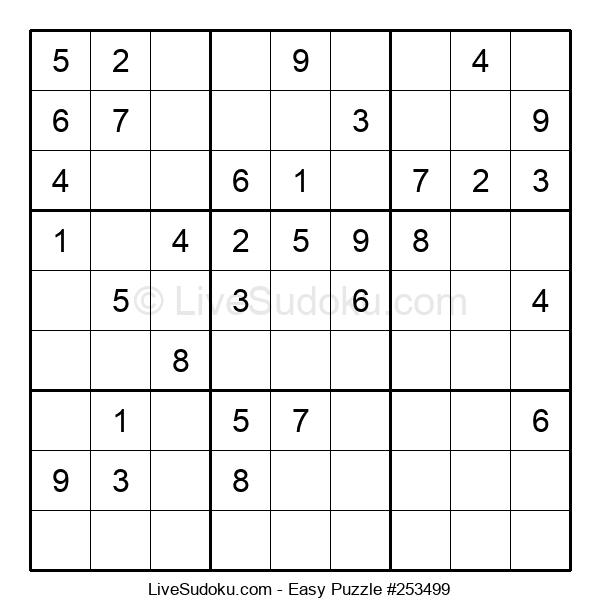 Beginners Puzzle #253499