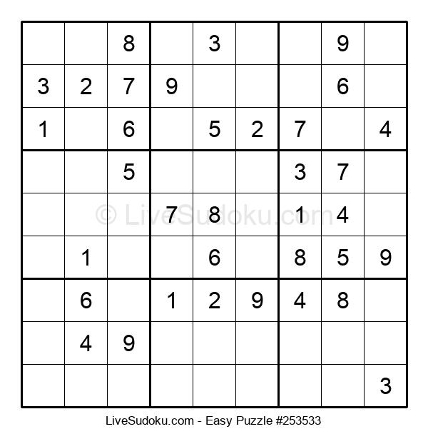 Beginners Puzzle #253533