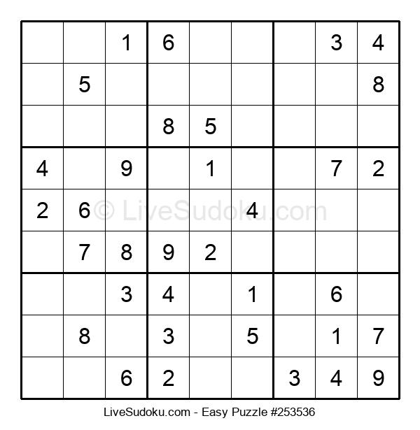 Beginners Puzzle #253536
