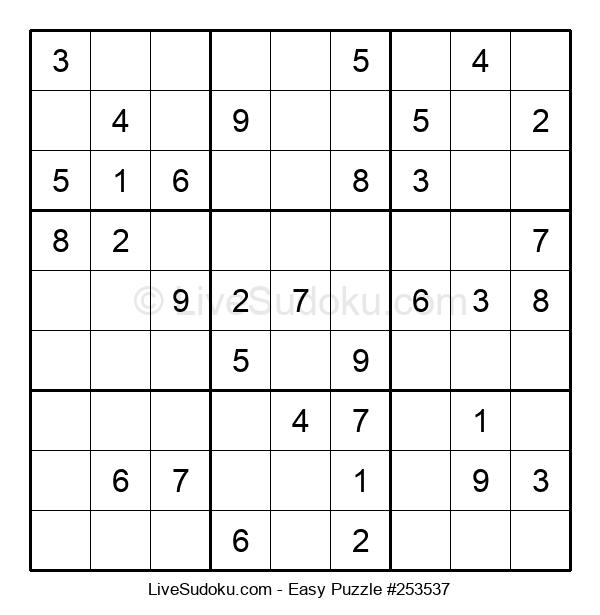 Beginners Puzzle #253537