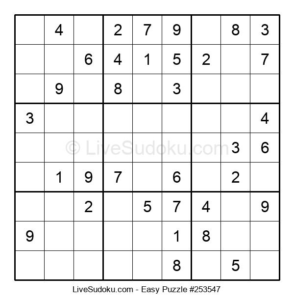 Beginners Puzzle #253547