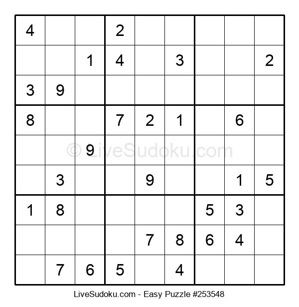 Beginners Puzzle #253548