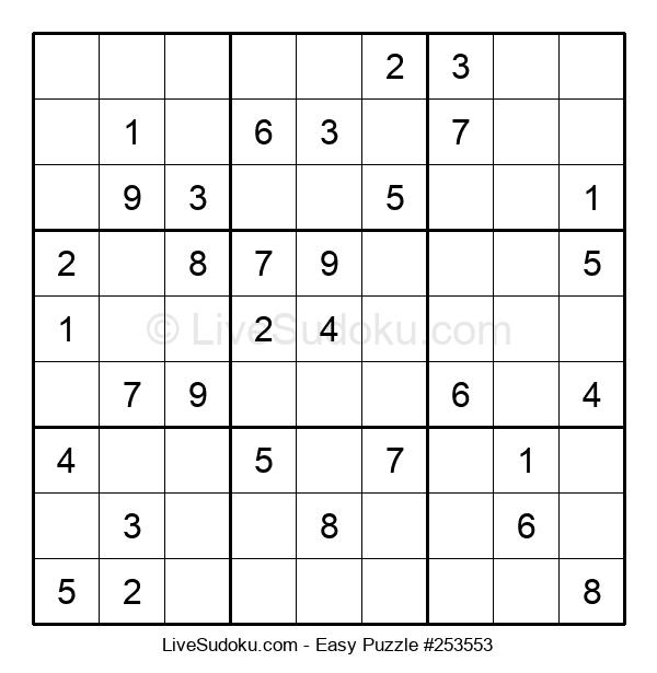 Beginners Puzzle #253553