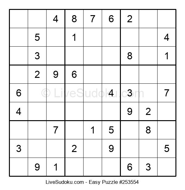 Beginners Puzzle #253554