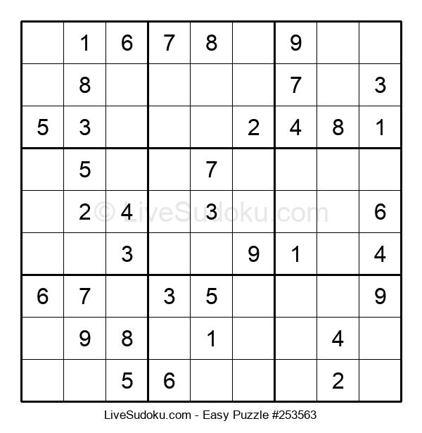 Beginners Puzzle #253563