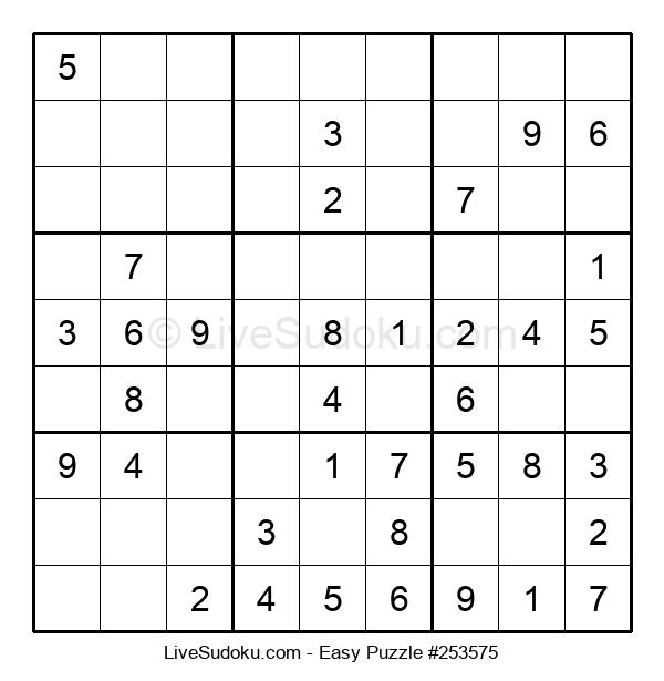 Beginners Puzzle #253575