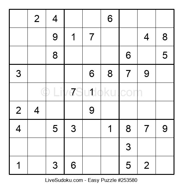 Beginners Puzzle #253580