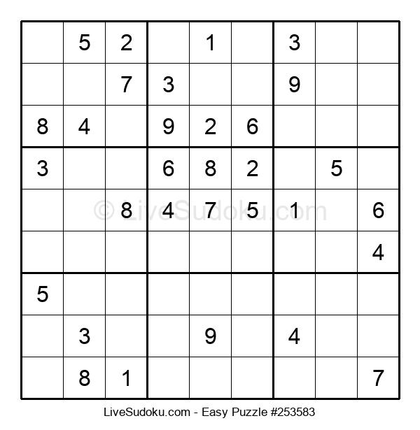Beginners Puzzle #253583