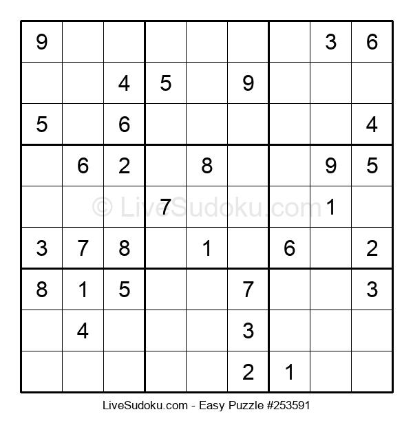 Beginners Puzzle #253591