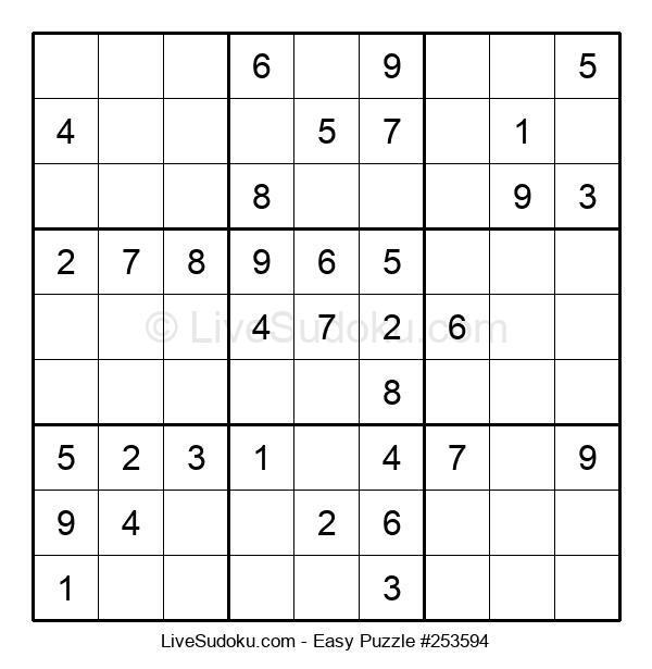 Beginners Puzzle #253594