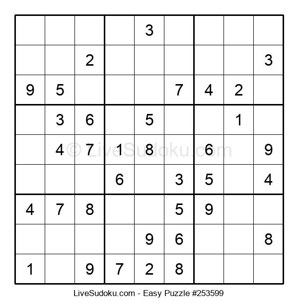 Beginners Puzzle #253599