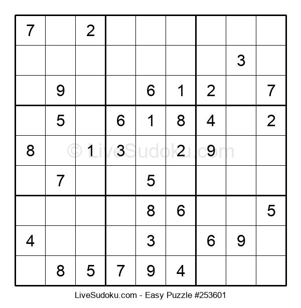 Beginners Puzzle #253601