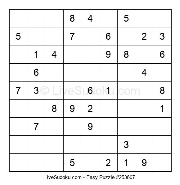 Beginners Puzzle #253607