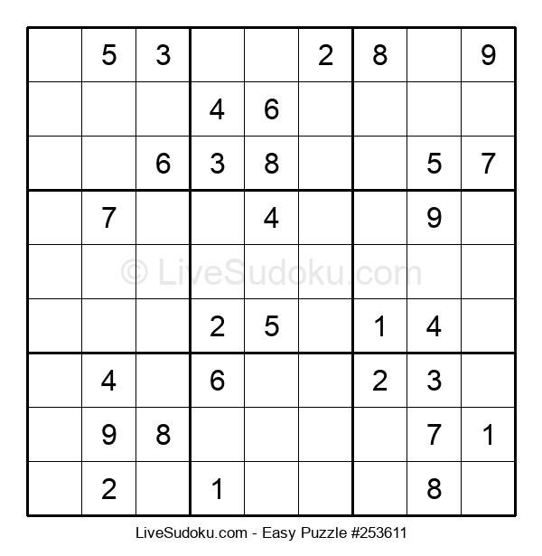 Beginners Puzzle #253611
