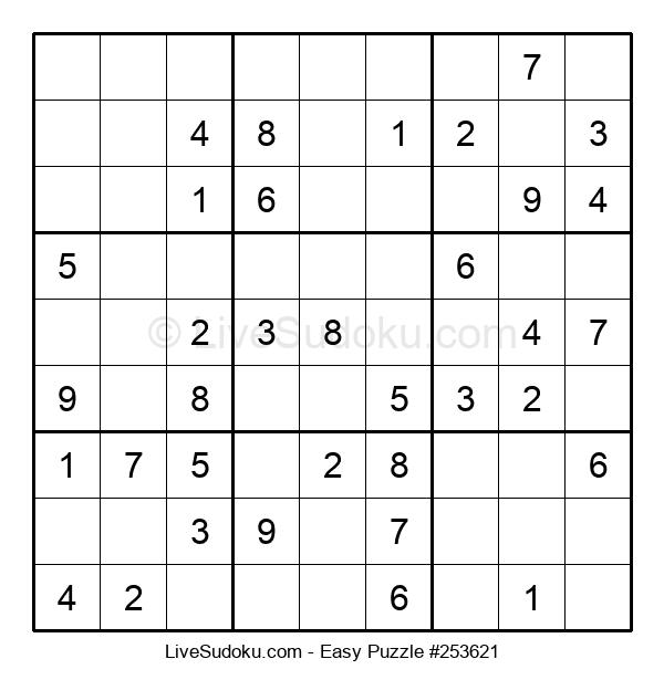 Beginners Puzzle #253621