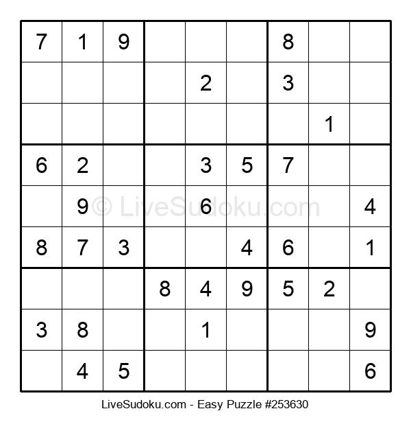 Beginners Puzzle #253630