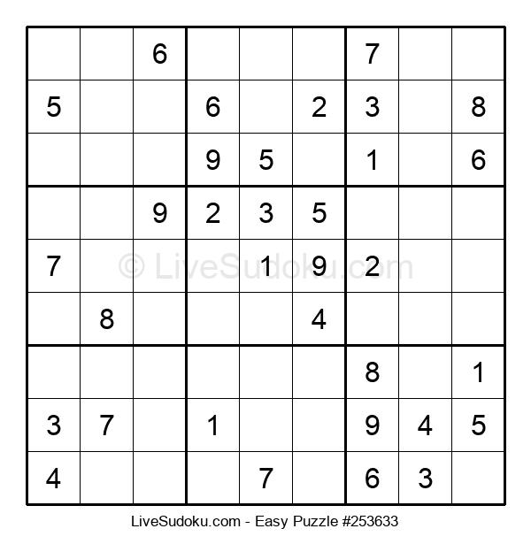 Beginners Puzzle #253633