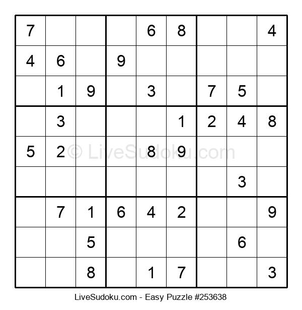 Beginners Puzzle #253638