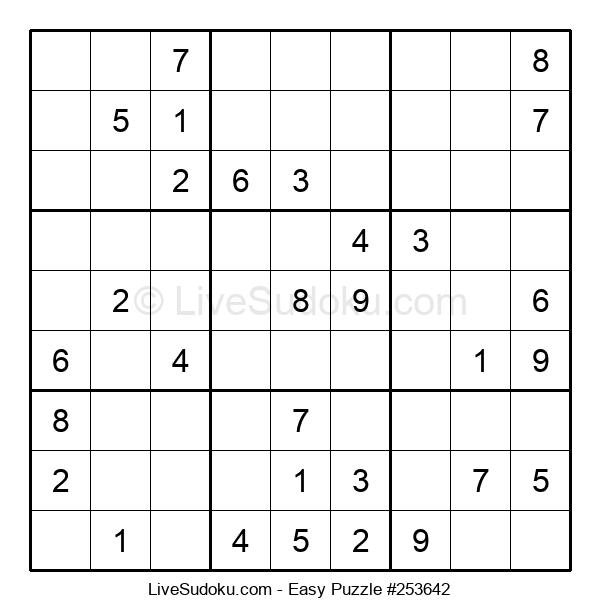 Beginners Puzzle #253642