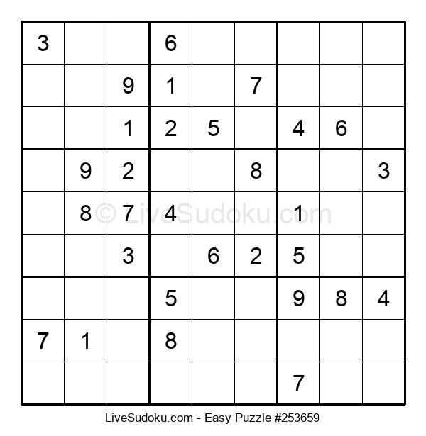 Beginners Puzzle #253659