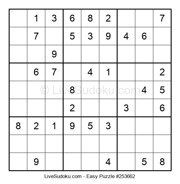 Beginners Puzzle #253662