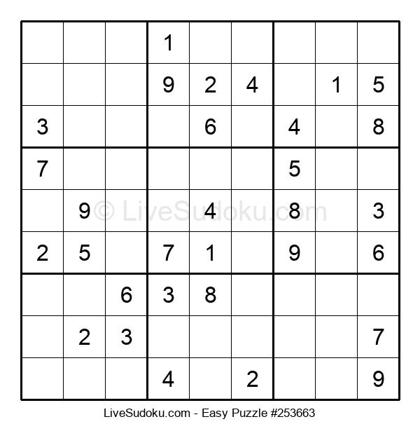 Beginners Puzzle #253663