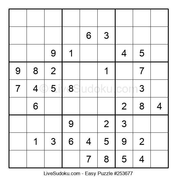 Beginners Puzzle #253677