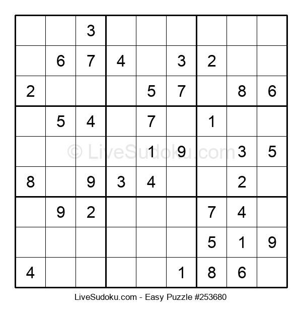 Beginners Puzzle #253680