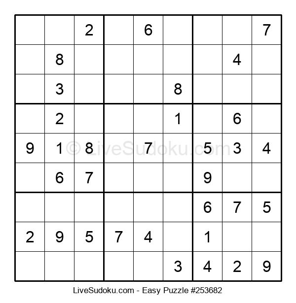Beginners Puzzle #253682
