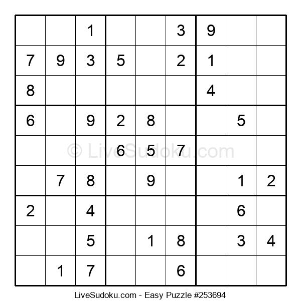 Beginners Puzzle #253694