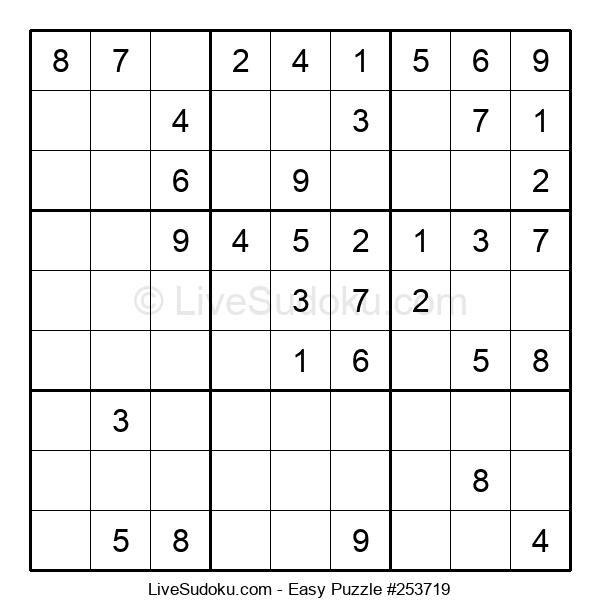 Beginners Puzzle #253719