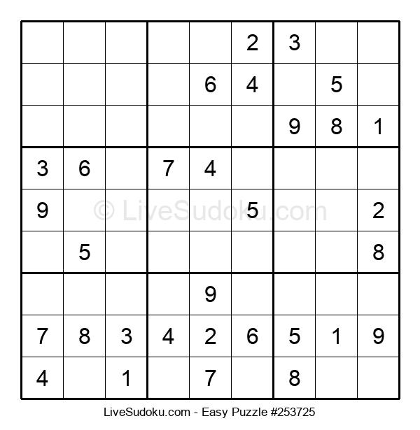 Beginners Puzzle #253725