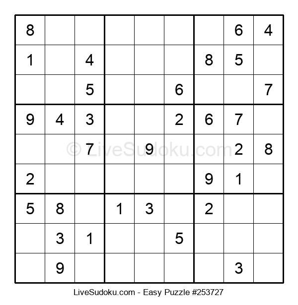 Beginners Puzzle #253727