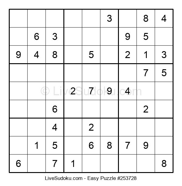 Beginners Puzzle #253728
