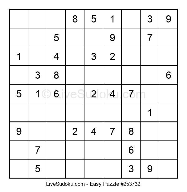 Beginners Puzzle #253732