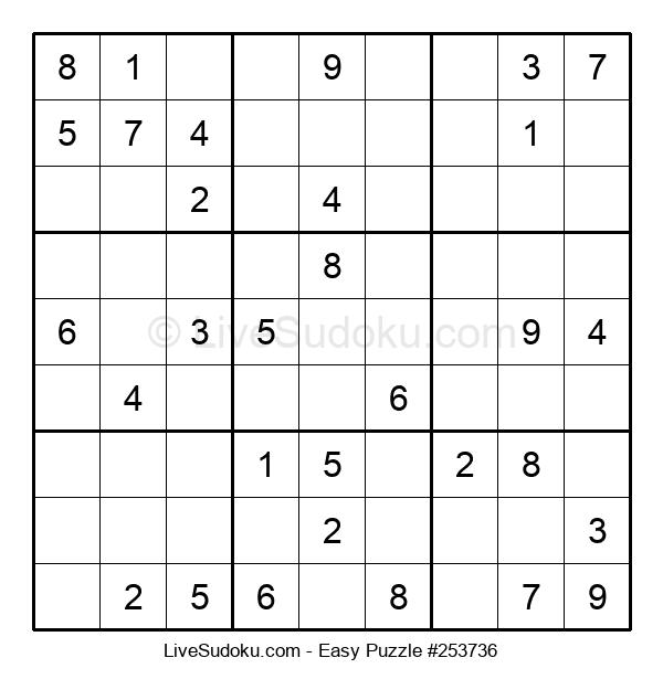 Beginners Puzzle #253736