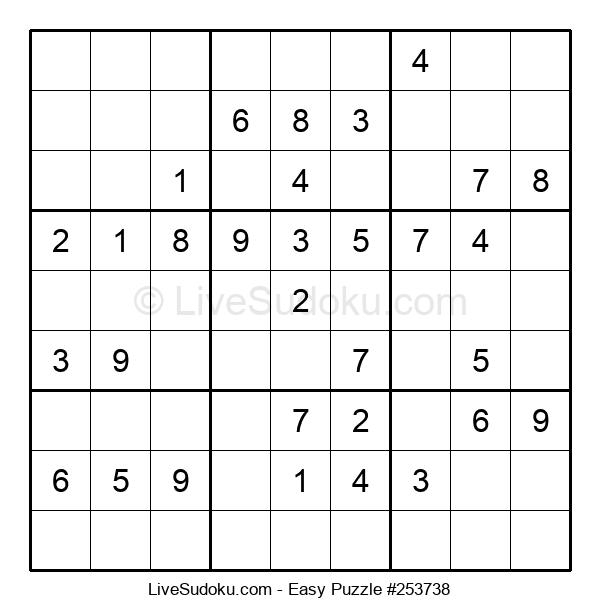 Beginners Puzzle #253738
