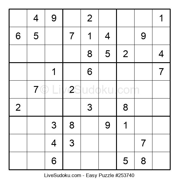 Beginners Puzzle #253740