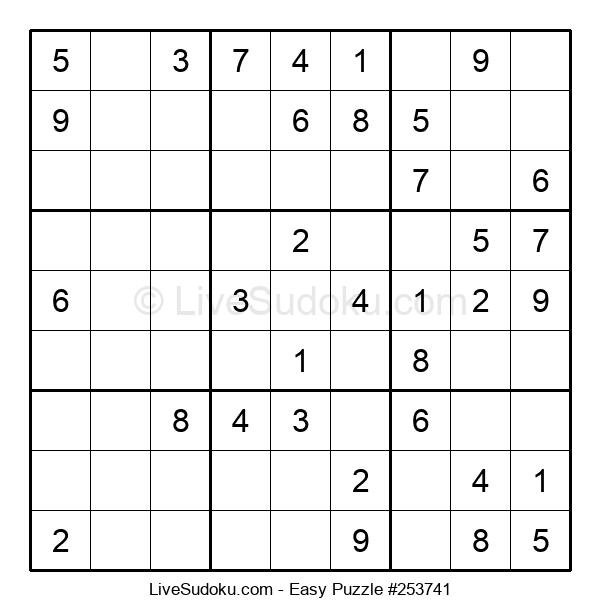 Beginners Puzzle #253741