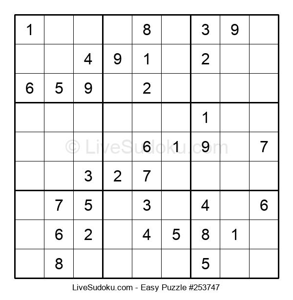 Beginners Puzzle #253747