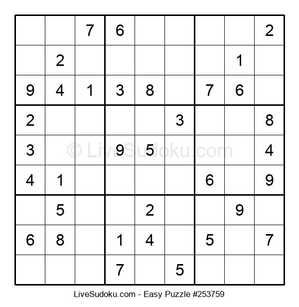 Beginners Puzzle #253759