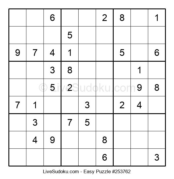 Beginners Puzzle #253762
